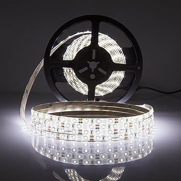 LEDMO Striscia LED Bianco Freddo 6000K SMD2835-300led ...