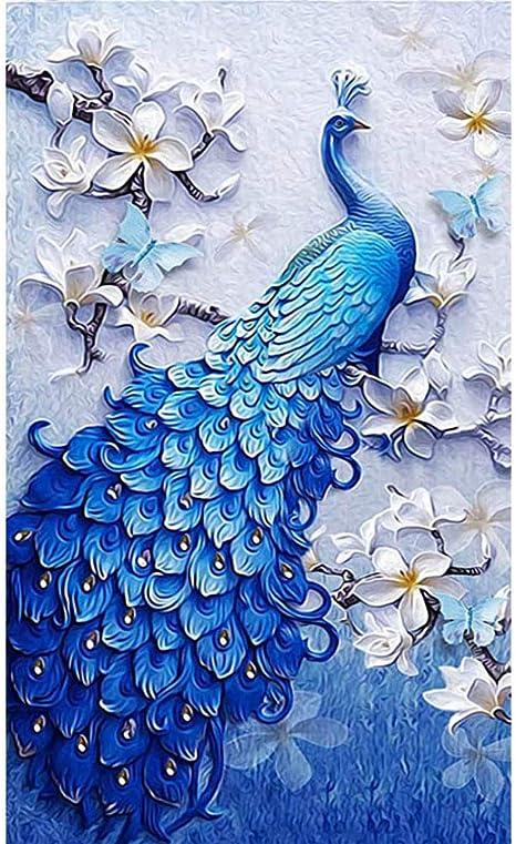 5D Full Round Drill Diamond Painting Embroidery Mosaic Kits Rhinestone Wall Art