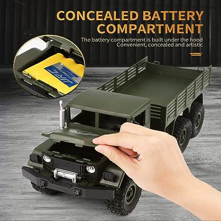 CCM RC Coche camión de 01:16 Modelo de Control Remoto de Camiones 6WD Simulación Transportador de Coches de Juguete (Verde + Amarillo) PL,Verde: Amazon.es: Hogar