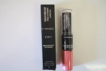 Amazon.com : MAC Peachstock Lip Stick for Women, 0.1 Ounce ...