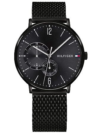 style de la mode de 2019 haut de gamme authentique classcic Tommy Hilfiger Hommes Multi-cadrans Quartz Montres bracelet avec bracelet  en Acier Inoxydable - 1791507