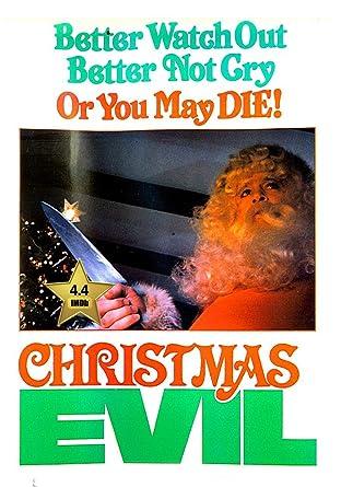 Christmas Evil 1980.Amazon Com Christmas Evil You Better Watch Out Vhs Retro
