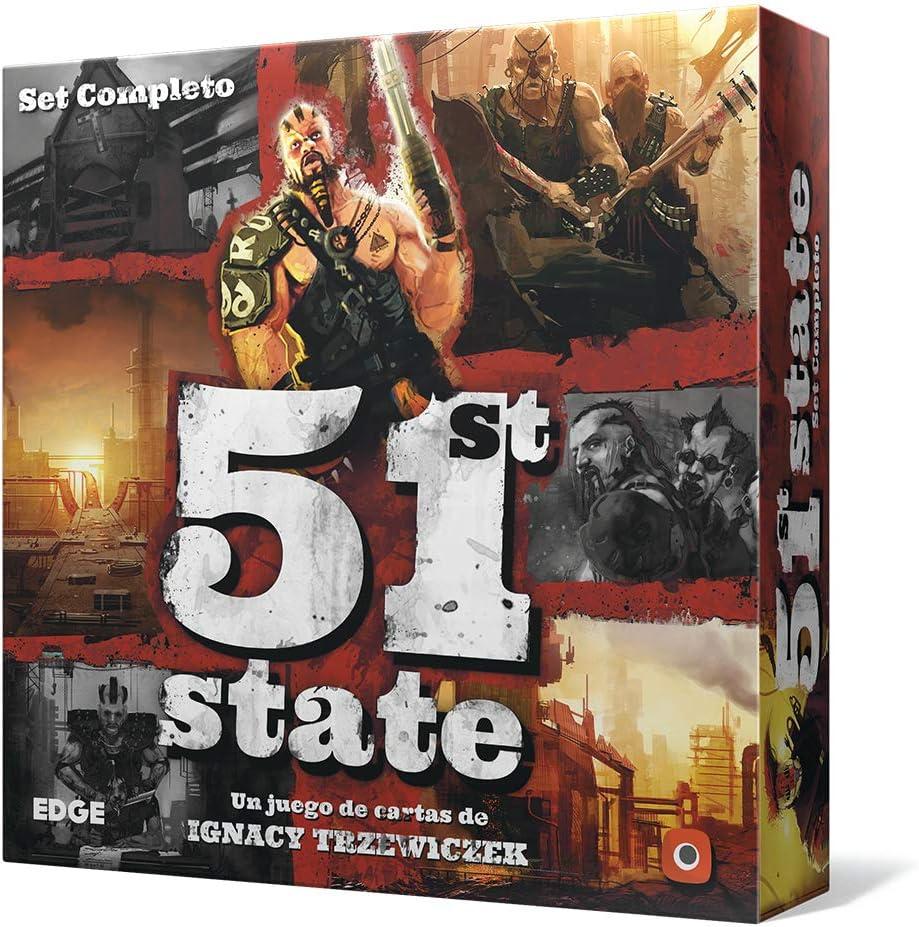 Edge Entertainment-51st State, Set Completo (EEPG5101): Amazon.es: Juguetes y juegos