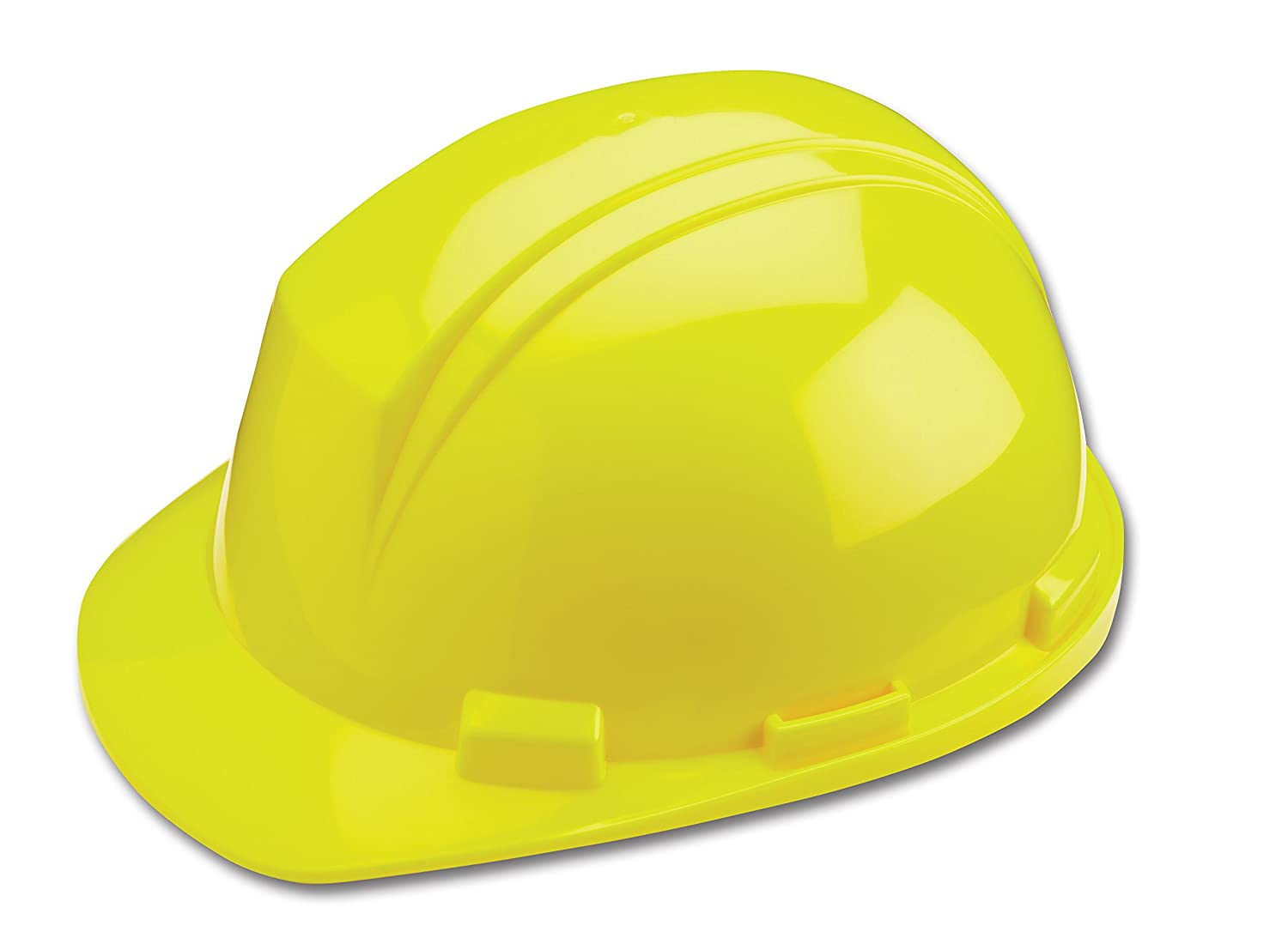 One Size Yellow ANSI Type II Dynamic Safety HP542//02 Mont-Blanc Hard Hat with 4-Point Nylon Suspension and Pin Lock Adjustment