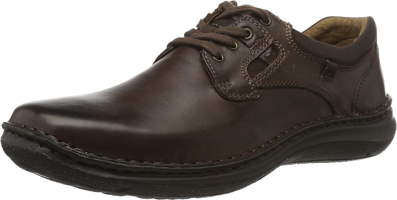 TALLA 39 EU. Josef Seibel Anvers 36, Zapatos de Cordones Derby para Hombre