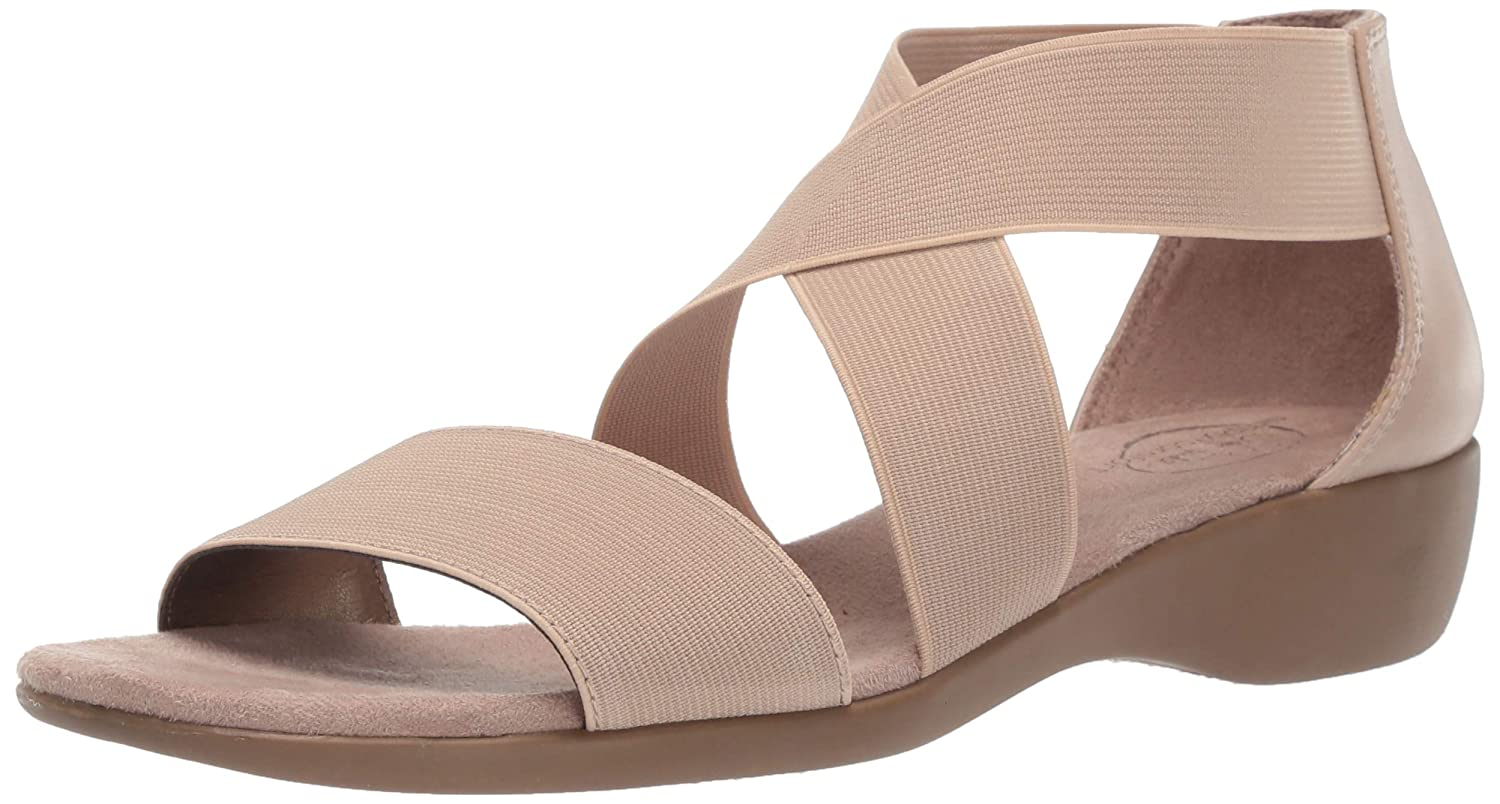 Lifestride Women's Tellie Fabric Sandal B07JQRFDDJ 5 M US|Tender Taupe Tender Taupe 5 M US