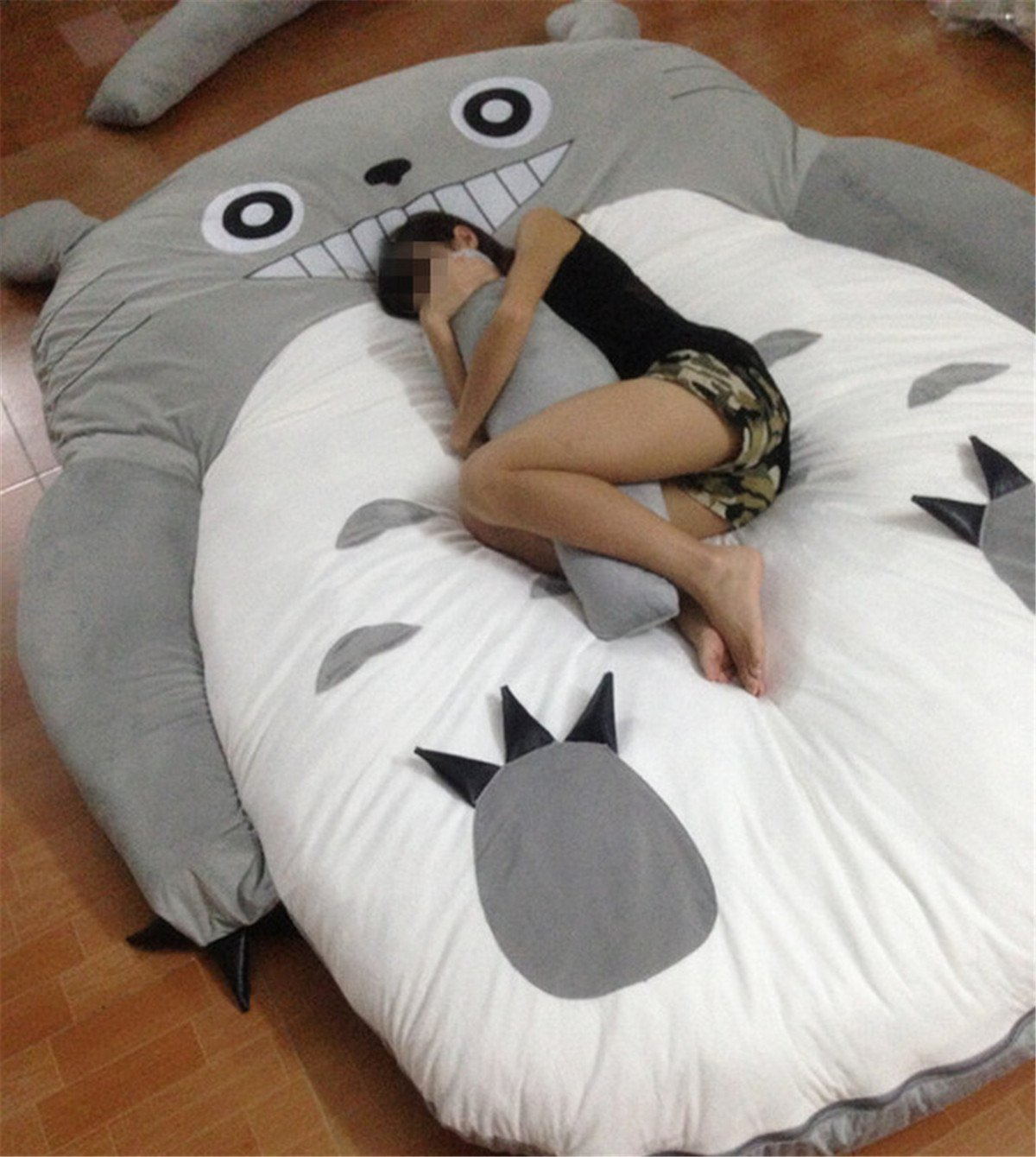 Christmas Unisex-adult Totoro Design Big Sofa Totoro Bed Mattress Sleeping Bag Mattress by VU ROUL