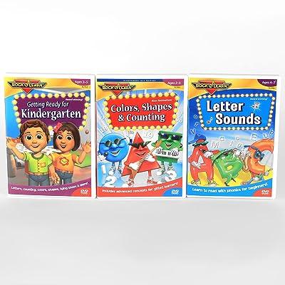 Rock N Learn Preschool DVD 3-set: Toys & Games [5Bkhe2004838]