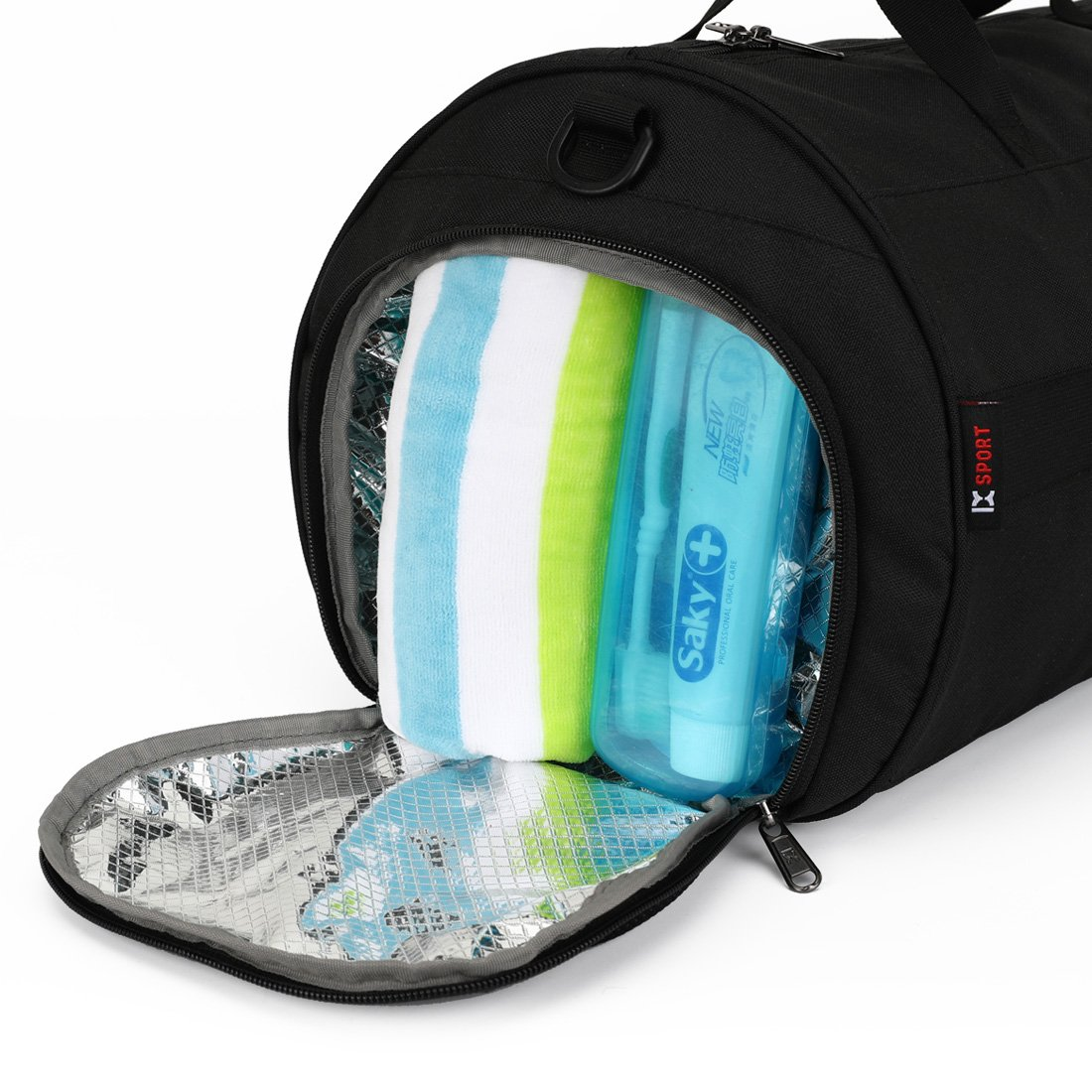93ad2ddd18 INOXTO Fitness Sport Small Gym Bag with Shoes Compartment Waterproof ...