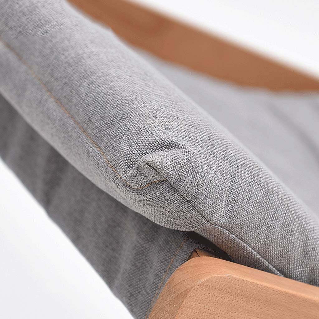 RXF Haushalts-Klappstuhl-hölzerner kühler Balkon-freier kühler Haushalts-Klappstuhl-hölzerner Büro-Haar-beiläufiger einfacher Klappstuhl (Farbe   1 ) 4a1f68