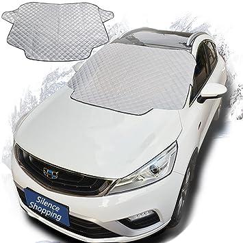 Silencio de compras Pantalla para limpiaparabrisas de coche parabrisas Parasol Cubierta De Nieve pantalla se adapta a la mayoría Vehículos Coche: Amazon.es: ...