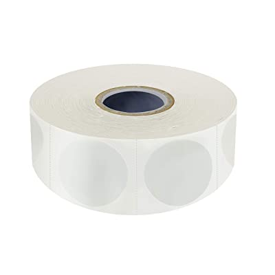 """Details about  /1500 PCS 1.5/"""" Round Clear Transparent Package Envelope Mail Wafer Seal Sticker L"""