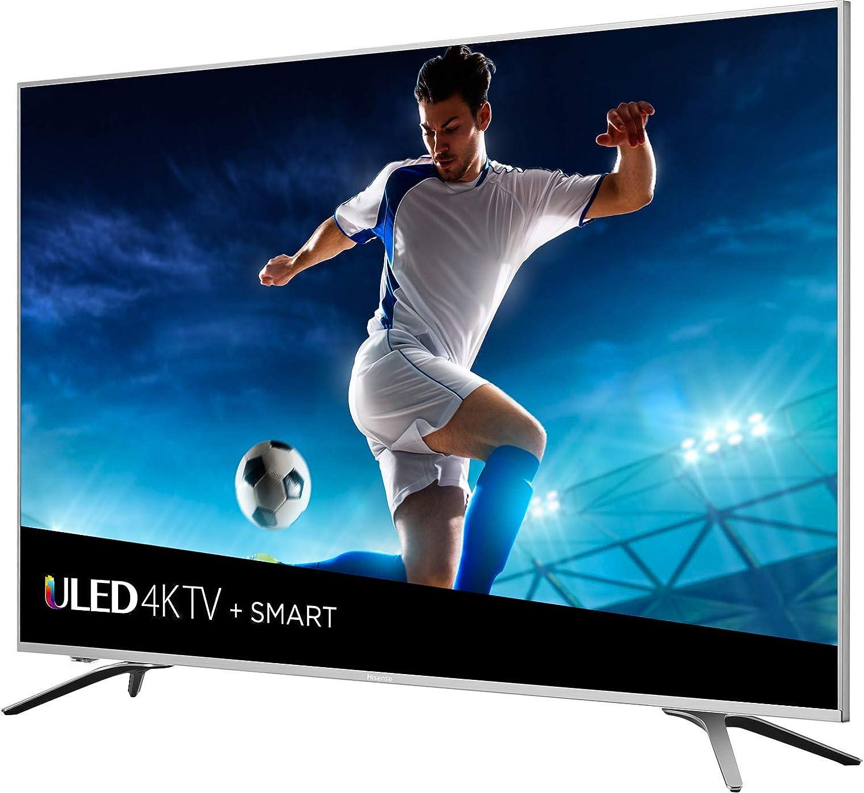 Hisense 65H9080E - Televisor LED 4K Ultra HD de 65 Pulgadas (2018), Gris Metal: Amazon.es: Electrónica