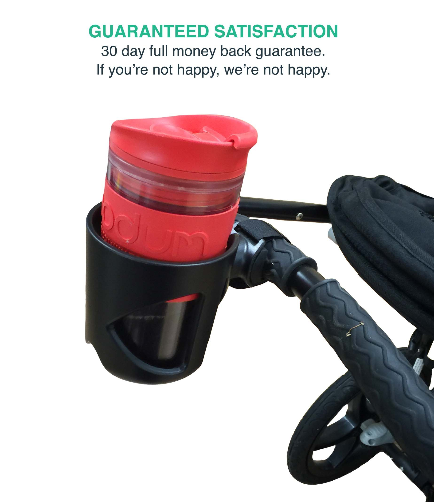 Replacement for Universal Stroller Cup Holder, Fits BabyHome, Baby Jogger, Britax, Bugaboo, Bumbleride, Chicco & More, by Think Crucial by Think Crucial (Image #4)