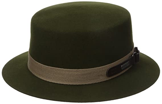 ab121d79faa5c Kangol Men s Buckle Boater Hat at Amazon Men s Clothing store
