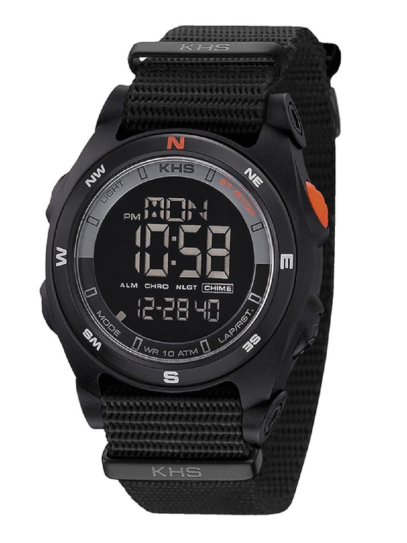 KHS Sentinel DC Black | Nato Black KHS.SEDCB.NB Kunststoff Nylon
