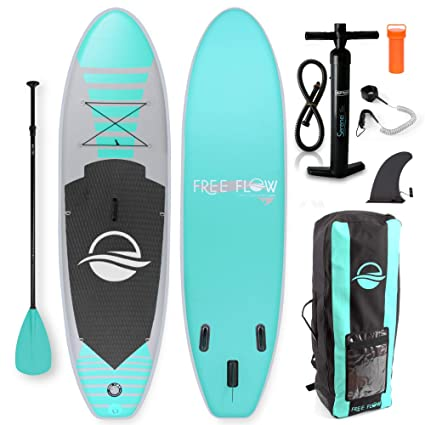 Cheap Paddle Boards >> Amazon Com Serenelife Premium Inflatable Stand Up Paddle Board 6