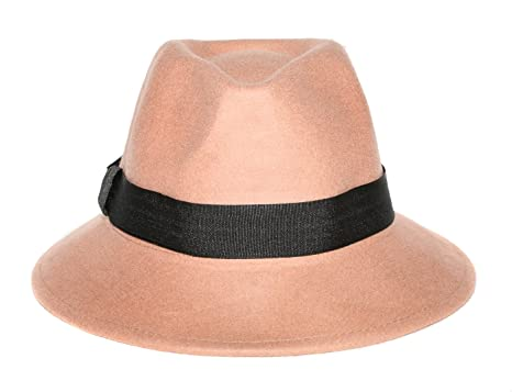 84b60405a38c8 Image Unavailable. Image not available for. Color  Unisex Camel Bucket  Style Fedora ...