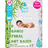 Pure Born New Born Disposable Diapers, 2 to 5 kg - 68 pcs