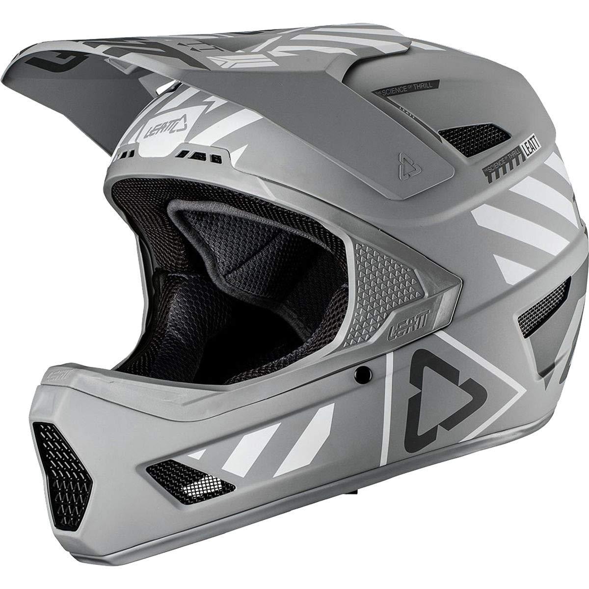 Leatt DBX 4.0 V19.3アダルトオフロードBMXサイクリングヘルメット - スチール/ラージ   B07H2R6N7B