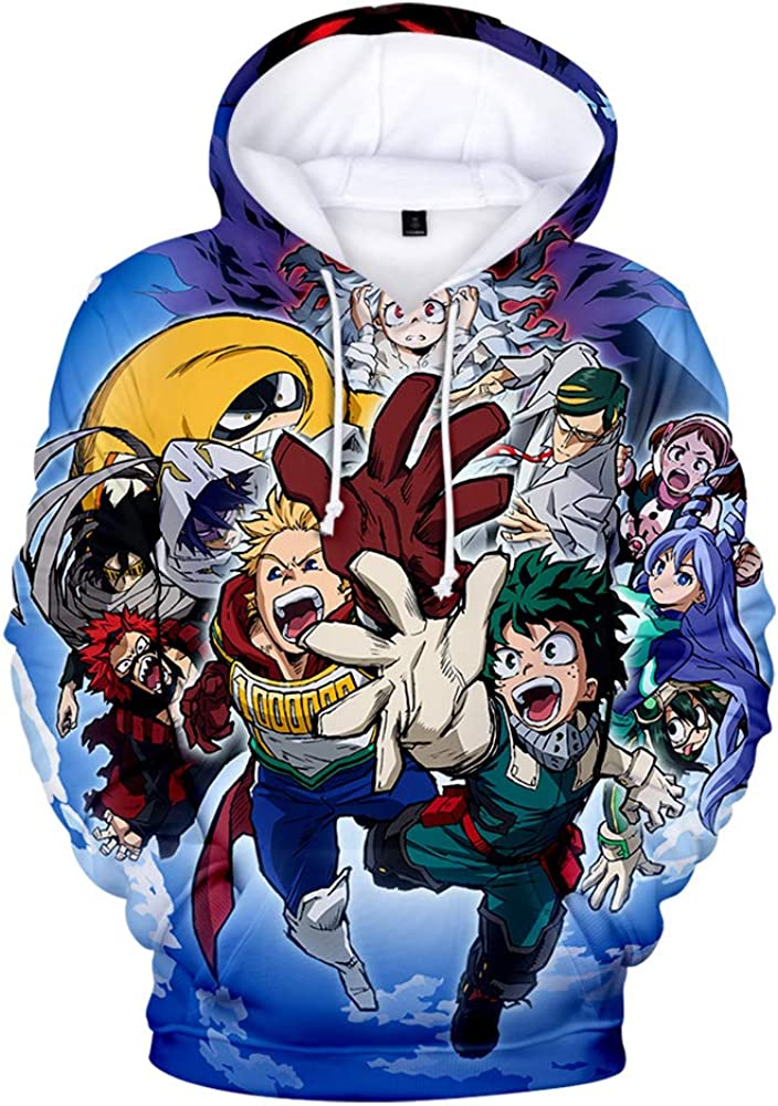 Boku No Hero Academia Hoodie My Hero Academia Sweatshirt Cosplay Costume
