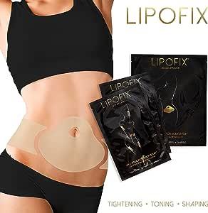 LipoFix Ultimate Body Wrap Lipo Applicator it works for Inch Loss Body Firming Contouring Shaping 12 wraps set (4 Abdomen + 4 pair (8 pcs) Body wraps applicators) …
