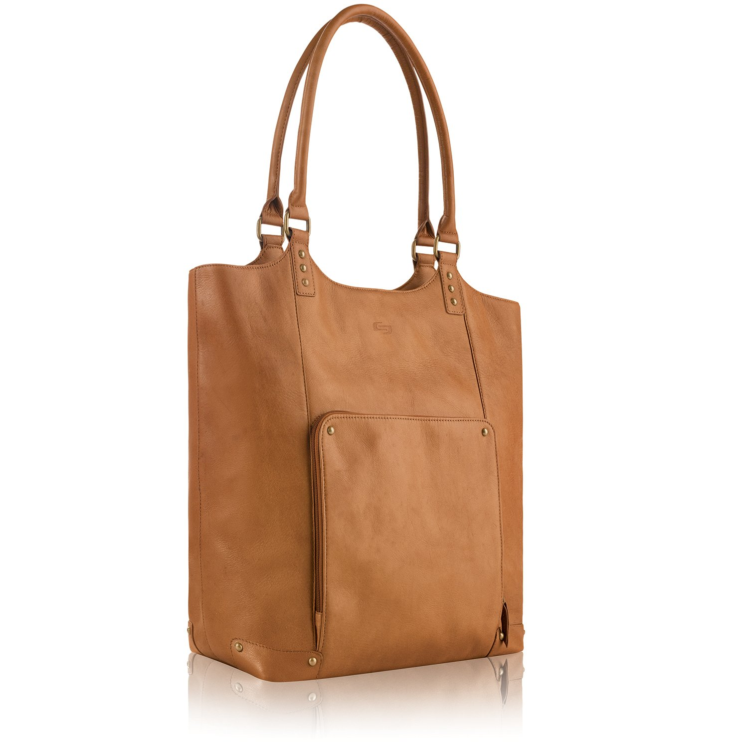 Solo Vestry 15.6 Inch Laptop Bucket Tote, Tan by SOLO (Image #2)