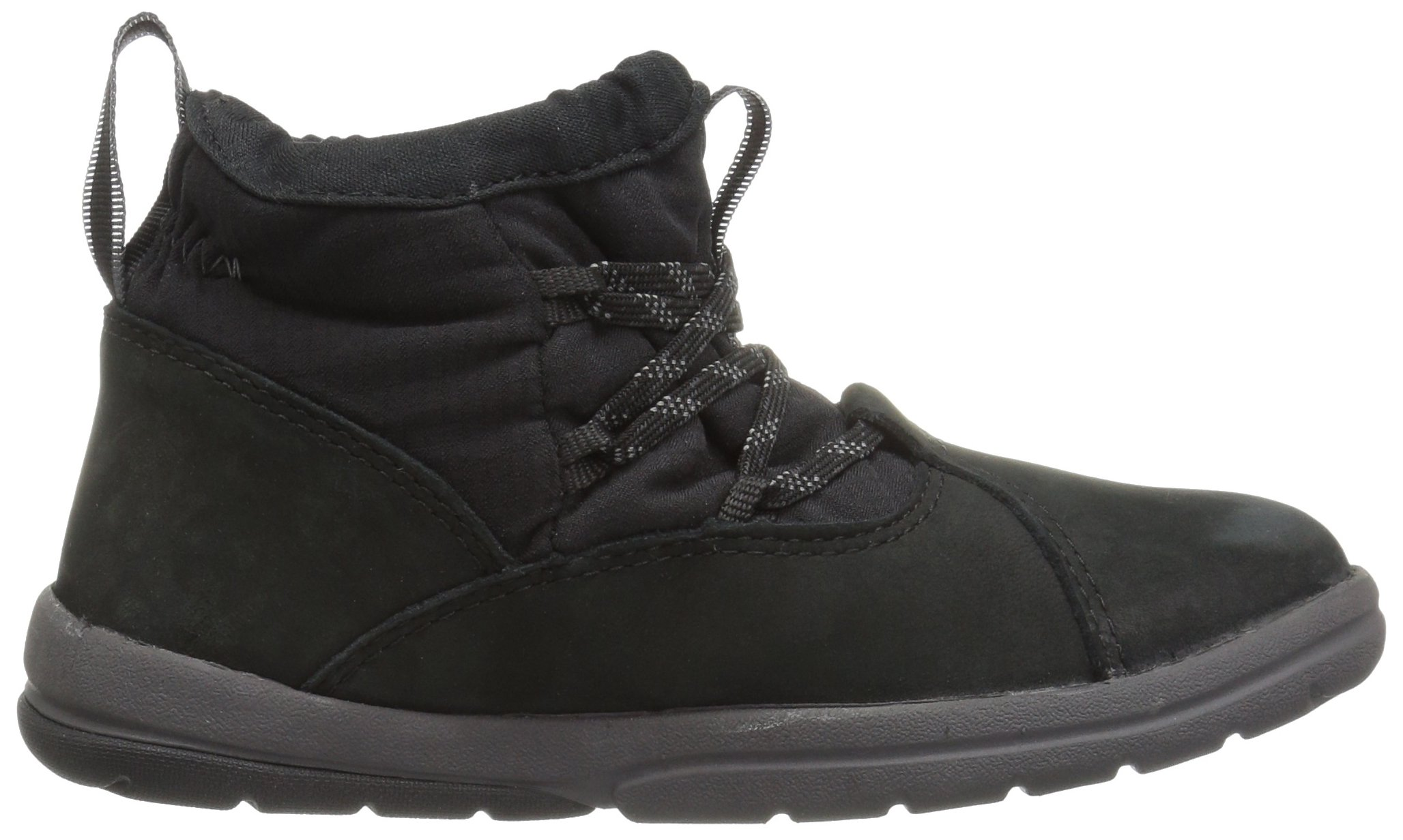 Timberland Unisex Toddle Tracks Warm Fabric Leather Bootie Snow Boot Black Nubuck 12 M US Little Kid by Timberland (Image #7)