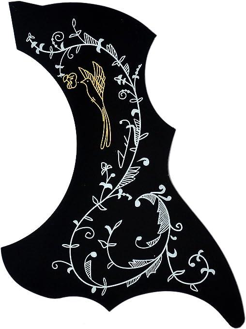 ts-ideen 6083 - Golpeador para guitarra acústica y western, diseño ...