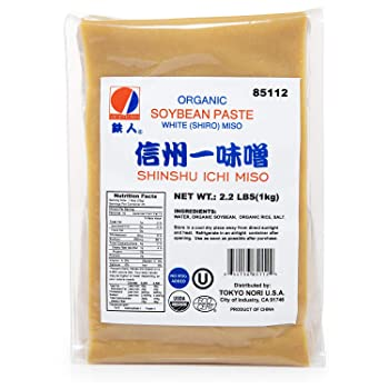 TETSUJIN Organic & No Preservatives 35.2 oz White Miso Paste