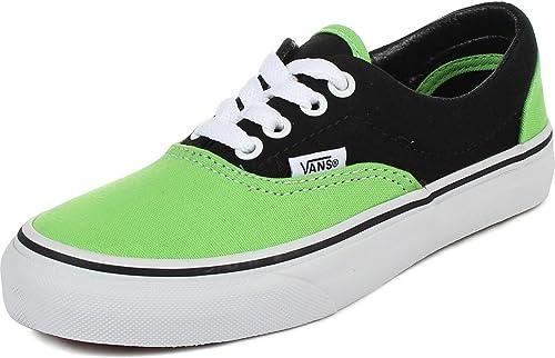 Youth K Era Shoes In 2 Tone Black/Green