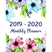 Image for 2019-2020 Monthly Planner: Two Year - Monthly Calendar Planner | 24 Months Jan 2019 to Dec 2020 For Academic Agenda Schedule Organizer Logbook and ... Monthly Calendar Planner 8.5 x 11) (Volume 5)