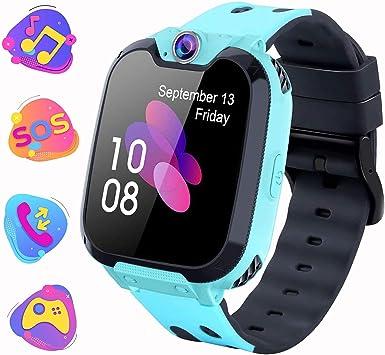 Montre Intelligente Pour Enfants Jeux Smartwatch Phone Appel Avec Mp3 Camera Lecteur De Musique Reveil Regarder Pour Garcon Fille Adolescents 3 15 Ans X9 Jeu Mp3 Blue Amazon Fr High Tech