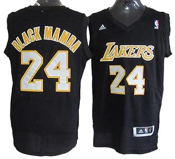 Nahuel Lakers 24 negro Mamba negro camisetas size-xxl: Amazon.es: Deportes y aire libre