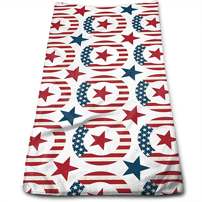 Toalla de elevaci/ón con Bandera Estadounidense huibe Gym Fitness Halterofilia
