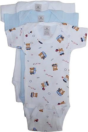 Bambini Baby Boy/'s Printed Short Sleeve Variety Pack