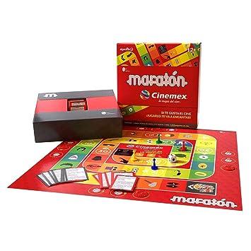 Amazon.com: Maratón Marathon Board Game Cinemex Special ...