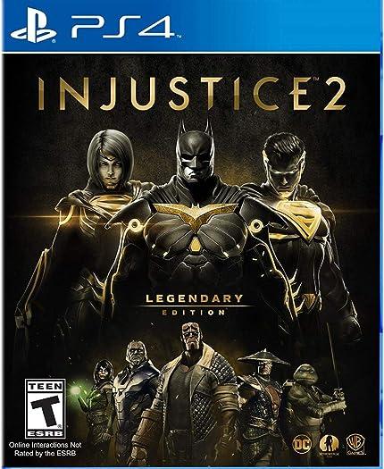 Injustice 2 - Legendary Edition (PS4): Video ... - Amazon.com