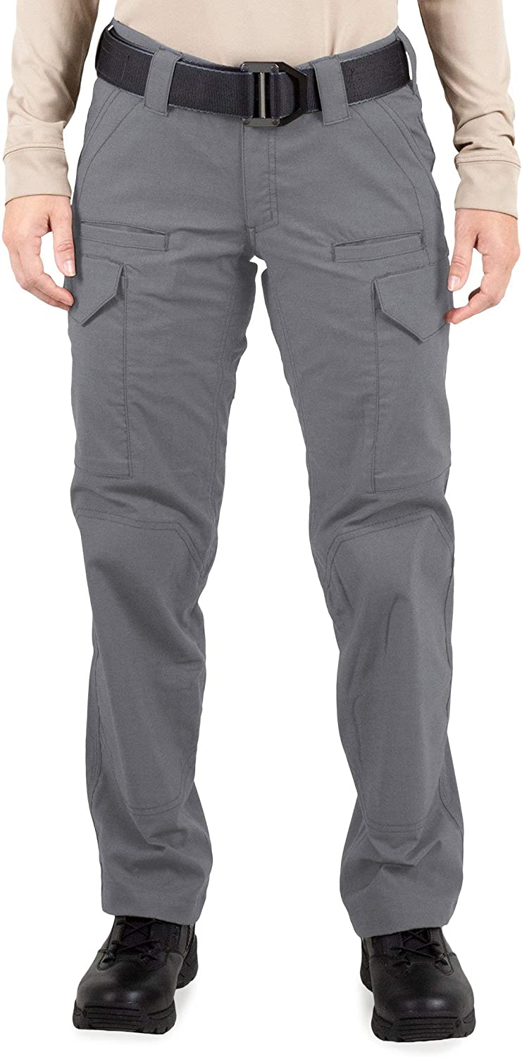 Wolf Grey Size 12 First Tactical Womens V2 Tactical Pants