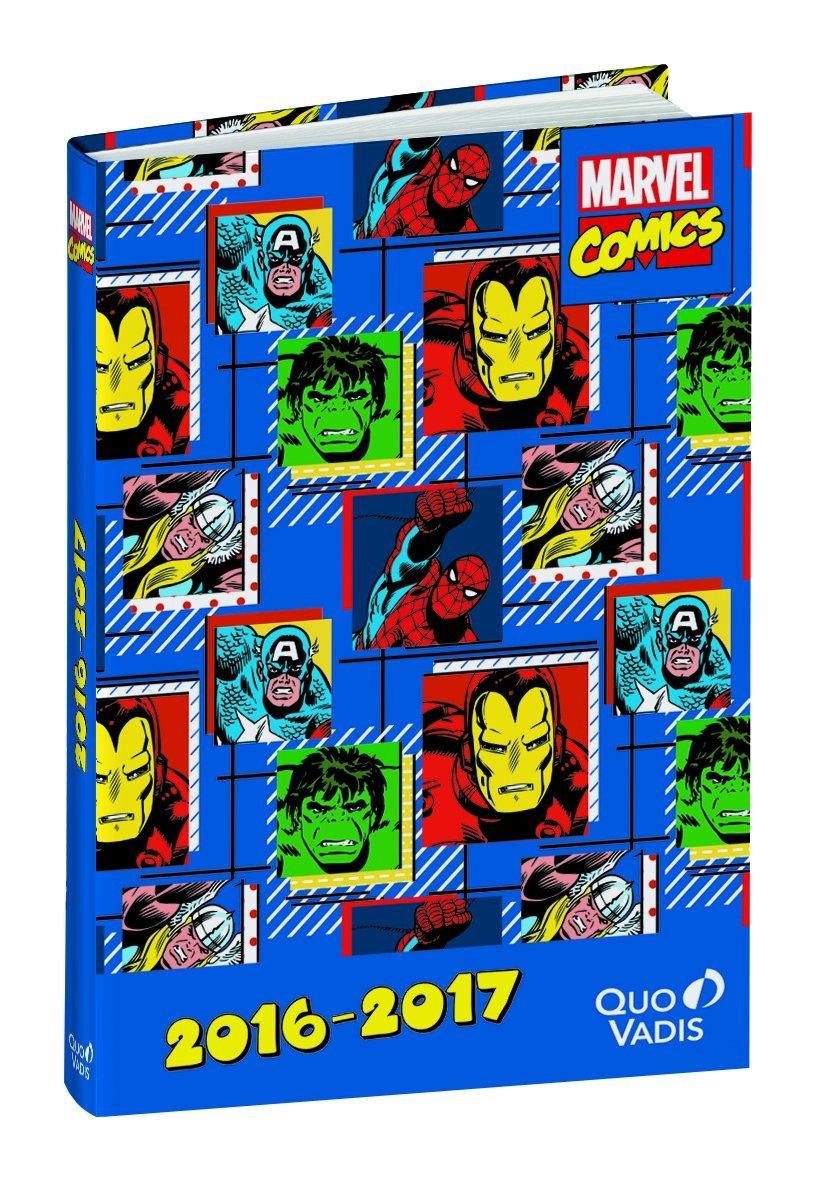 Quo Vadis 029921Q - Agenda, diseño Marvel: Amazon.es ...