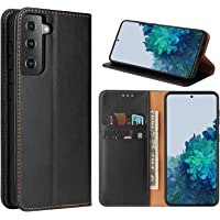 GoshukunTech Case for Galaxy S21,for Samsung S21 5G Wallet Case[6.2 inch] Magnetic Wallet Case Leather Flip Folio Cover…