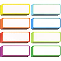 40 Pieces Magnetic Dry Erase Labels Name Plate Tags Flexible Magnetic Label Stickers for Whiteboards Refrigerator Crafts…
