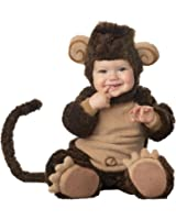 Dantiya Baby Costume Monkey Flannel Romper Photogragh Prop