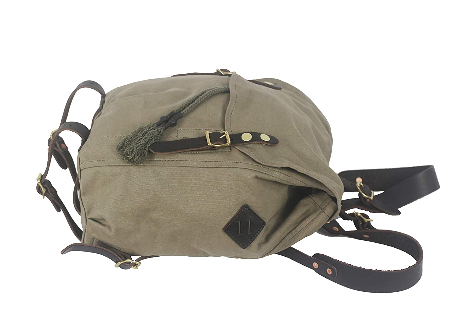 Armygreen Roverjeans rucksack retro military backpack outdoor travel bag