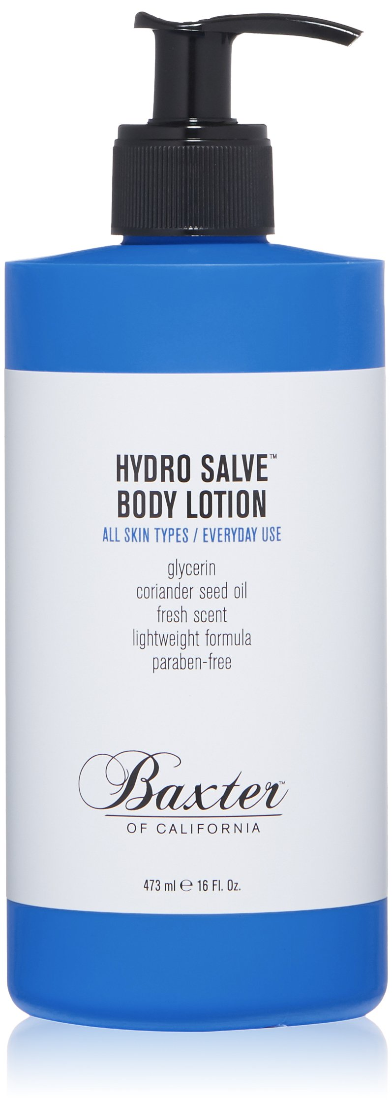 Baxter of California Hydro Salve Body Lotion for Men | For All Skin Types | 16 oz