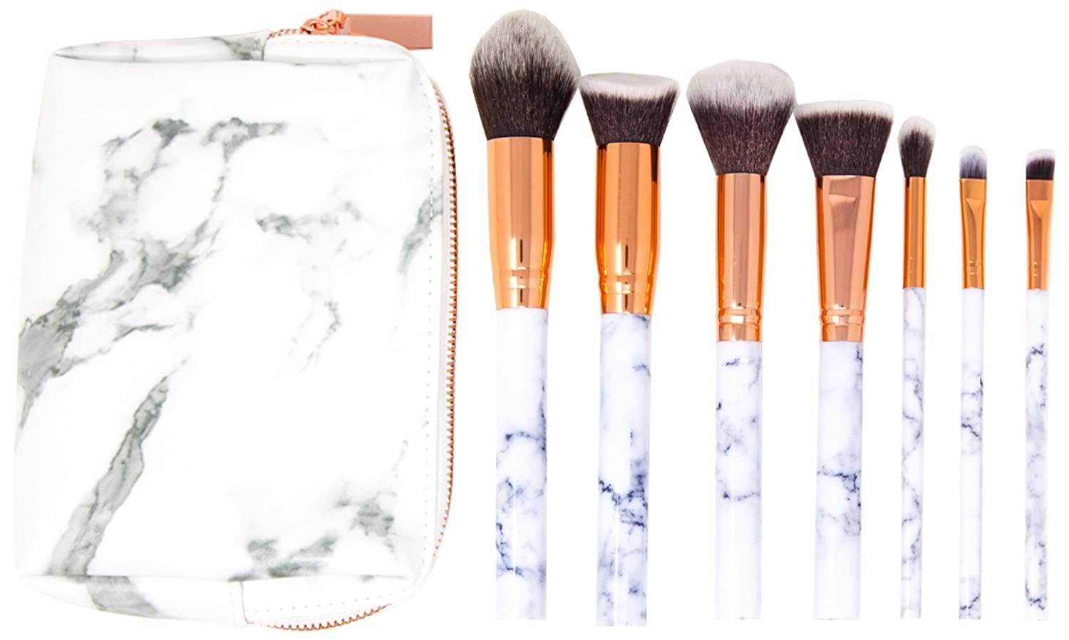 Makeup Brush Set Leather Pouch Makeup Vidalondon