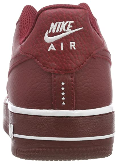 Nike Air Force 1 (GS), Zapatillas Unisex Niños, Rojo (Team Red/Team Red-White 627), 36.5 EU