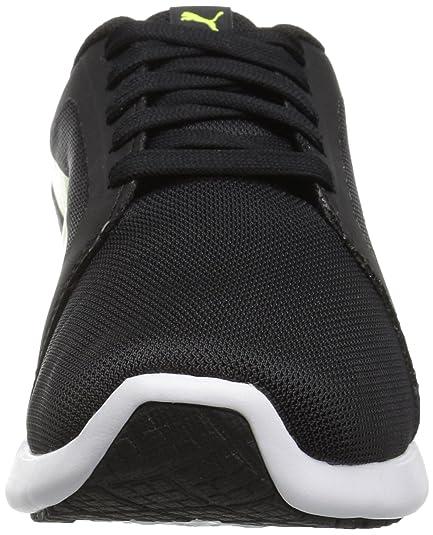 Zapato de entrenamiento cruzado ST Evo para hombre, Amarillo de seguridad negra Puma, 7.5 M EE. UU.