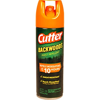 Cutter Backwoods Insect Repellent 10 Hour 25% DEET 6 Ounce (Value Pack of 5) : Garden & Outdoor
