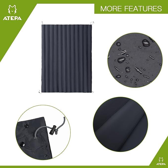 Amazon.com: Atepa multifuncional portátil cálido plumón ...